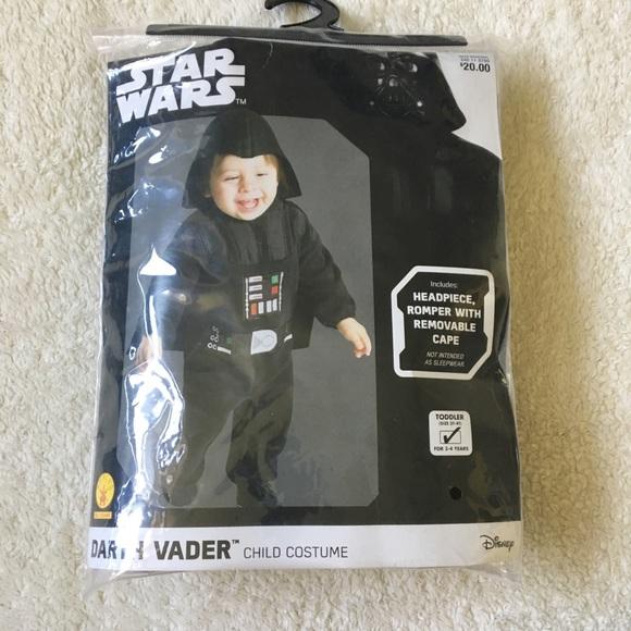 M_5b60ec6b5c445286cdcb12c3  sc 1 st  Poshmark & Costumes | Toddler Star Wars Darth Vader Costume 3t4t New | Poshmark
